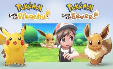 Pokémon: Let's Go llega a Nintendo Switch