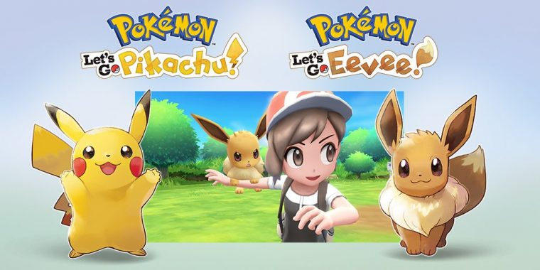 Pokémon: Let's Go llega a Nintendo Switch
