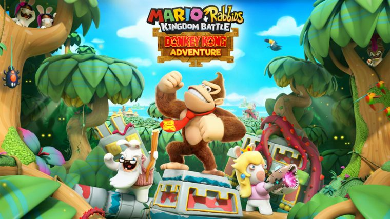 Donkey Kong Adventure llega a Mario+Rabbids Kingdom Battle