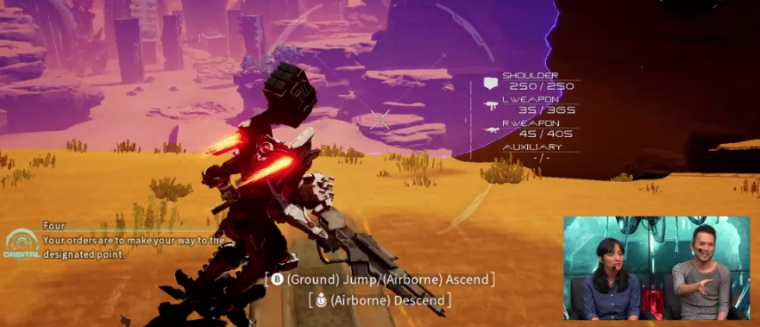 Nintendo muestra gameplay de Daemon x Machina en el E3 2018