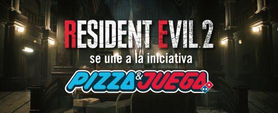 RESIDENT EVIL 2 SE UNE A LA INICIATIVA #DominosPizzaYJuega