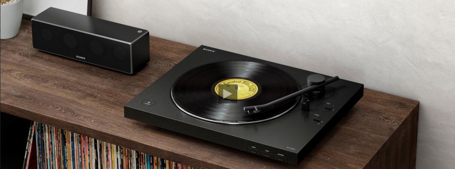Sony presenta nueva barra de sonido y tocadiscos inalámbrico