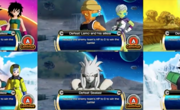 Gran actualización de Super Dragon Ball Heroes World Mission