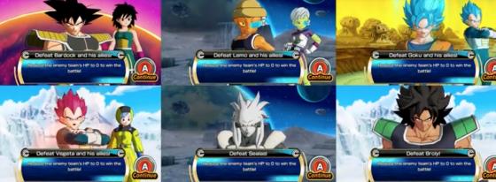 Gran actualización de Super Dragon Ball Heroes World Mission