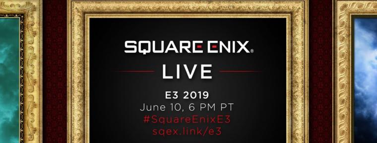 E3 2019: Conferencia de prensa Square Enix Live