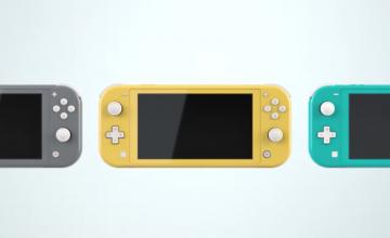 Anuncio oficial del Nintendo Switch Lite