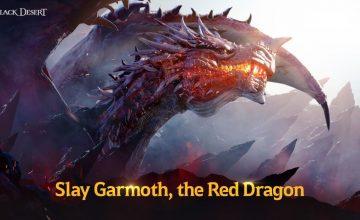 El dragón Garmoth vuelve a Black Desert para PS4 y Xbox One